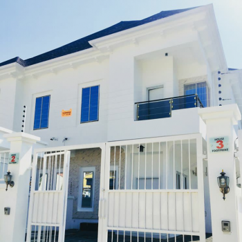 Luxury 4 Bedroom Semi Detached with a Bq, Osapa, Lekki, Lagos, House for Sale