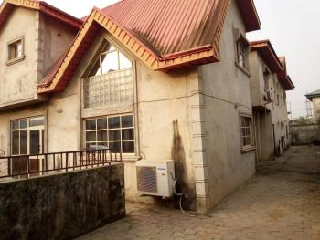 Four Bedroom Duplex with Two Units of Three Bedrooms, Egbeda, Alimosho, Lagos, Detached Duplex for Sale