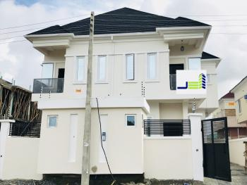 Newly Built Four Bedroom Semi Detached House with Bq, Oral Estate, Lekki, Lagos, Semi-detached Duplex for Sale