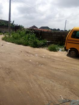 Distress Sale! a Plot of Land (corner Piece), Ago Bridge, Ago Palace, Isolo, Lagos, Residential Land for Sale