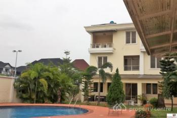 4 Bedroom Fully Serviced Luxury Terrace Triplex, All Rooms En Suite.+ Two Living Rooms, a Study & Bq, Banana Island, Ikoyi, Lagos, Terraced Duplex for Rent