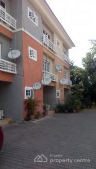 Luxury and Fully Serviced 3 Bedroom Terrace Duplex with a Bq, Pool, 24hrs Light, Bush Bar, Garden, Maitama District, Abuja, House for Rent