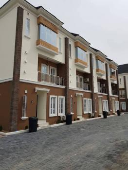 Newly Finished 7 Units of 4 Bedroom Exquisite Terrace Duplexes, Off Oniru Market Road, Oniru, Victoria Island (vi), Lagos, Terraced Duplex for Sale