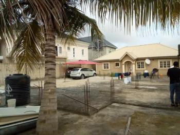 Lovely and Spacious 3 Bedroom Fully Detached Bungalow with 4 Toilets & 4 Bedroom Duplex Foundation, Tedo Housing Estate, Sangotedo, Ajah, Lagos, Detached Bungalow for Sale