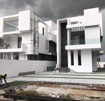 Luxury Five Bedroom Detached House with a Room Bq in Pinnock Beach Estate, Pinnock Beach Estate, Osapa, Lekki, Lagos, Detached Duplex for Sale