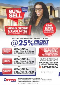 Atlantic Bay (buy to Sell Get 25% Interest After 1 Year), Atlantic Bay Is Located Opposite The Atlantic Ocean, Awoyaya, Ibeju Lekki, Lagos, Mixed-use Land for Sale