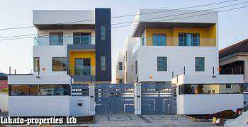 a Beautiful Luxury Built  4 Bedroom Duplex with State of The Art  Finishing, Lekki Phase 1, Lekki, Lagos, Semi-detached Duplex for Sale