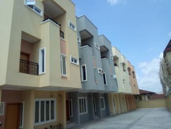 8 Units of 5 Bedroom Terrace + 1 Room Bq, Off Akora Villa, Adeniyi Jones, Ikeja, Lagos, Terraced Duplex for Sale