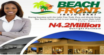 Plots of Land at Akodo, Sharing Boundary with The Lekki Free Trade Zone, Sharing Boundary with The Lekki Free Trade Zone and Directly Facing Eko Tourist Center Which Is Over Looking The Ocean, Akodo Ise, Ibeju Lekki, Lagos, Land for Sale