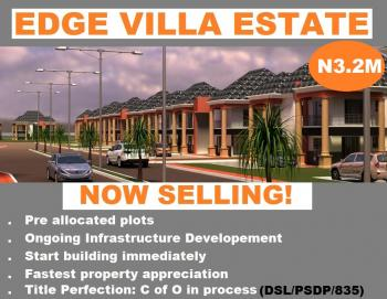 Lands for Sale at Edge Villa Estate, Ibeju Lekki, Edge Villa Estate, Off  Lekki Express Way, Close to Amen Estate Phase 1, Eleko, Ibeju Lekki, Lagos, Mixed-use Land for Sale