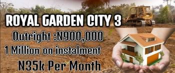 Plots of Lands, at Royal Garden City Phase Iii, Mowe Ofada, Ogun, Residential Land for Sale
