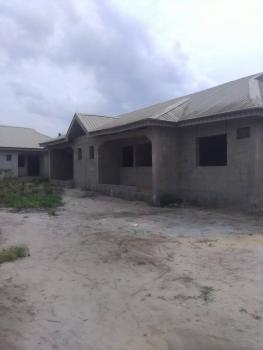 2 Buildings on a Plot of Land, Building 1(3 Bedroom Flat), Building 2: 2(3) Bedroom Flat, Alatise, Ibeju Lekki, Lagos, Terraced Bungalow for Sale