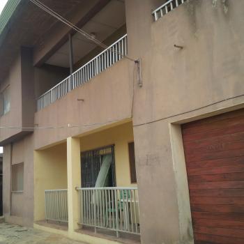 Spacious Block of 4 Flats of 3 Bedroom Each with Mini Flat Bq, Off Okunola, Egbeda, Alimosho, Lagos, Block of Flats for Sale