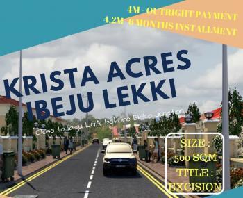 Plot of Land, Before Eleko, Eputu, Ibeju Lekki, Lagos, Land for Sale