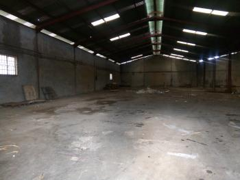 Industrial Complex Comprising of a Structurally Sound Warehouse of 1,600sqm and an Office Block of 3 Floors, Old Lagos Road, Ibadan, Oyo, Warehouse for Sale