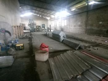 Warehouse of 1,000sqm Complete with Offices in a Fully Fenced and Gated Premise with Tarred Road Access, Oluyole Main Estate, Ibadan, Oyo, Warehouse for Rent