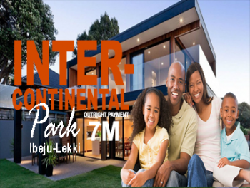 Intercontinental Park Estate, Origanrigan, Okunraiye, Ibeju Lekki, Lagos, Mixed-use Land for Sale