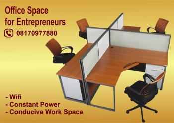 Office Space for Entrepreneurs, N10,000 per Month at Ojuelegba, 33, Bishop Street, Off Luth Road, Ishaga, Ojuelegba, Surulere, Lagos, Office Space for Rent