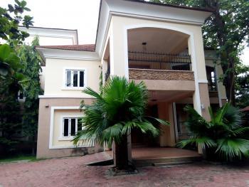 Ambassadorial 6 Bedrooms Detached Duplex with 1 Bedroom Guests Chalets, 2 Rooms Bq, Swimming Pool and Generator Set, Off Ibb Buleivard, Maitama District, Abuja, Detached Duplex for Rent