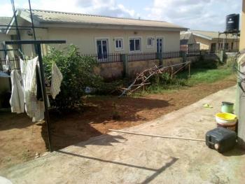 Half Way Built 2nos 3 Bedroom Semi Detached Bungalow, Alagbaka, Akure, Ondo, Terraced Bungalow for Sale