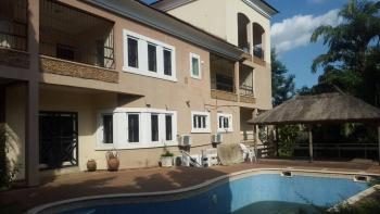 Exquisite Finished & Serviced 5 Bedrooms Detached Duplex with Servant Quarters, Off Ibb Boulevard Way, Maitama District, Abuja, Detached Duplex for Rent