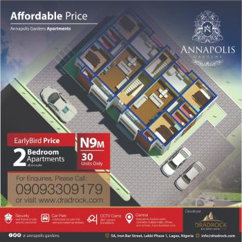 2 Bedroom Apartment All En-suite in an Estate, Alatise, Ibeju Lekki, Lagos, Flat for Sale