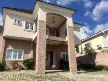Luxury Finished 5 Bedroom Duplex with Servant Quarters, Guest Chalet,ideally for Residence /quite Corporate Office, Maitama District, Abuja, House for Rent