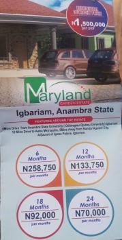Estate Plots of Land, Igbariam, Anambra, Anambra, Residential Land for Sale