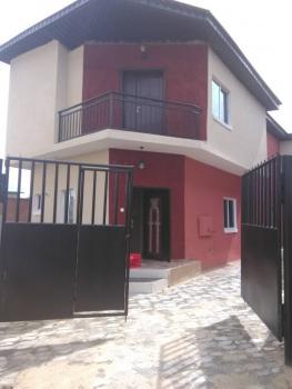 Three Bedroom Duplex with a Bq, Westend Estate, Lekki, Lagos, Detached Duplex for Sale
