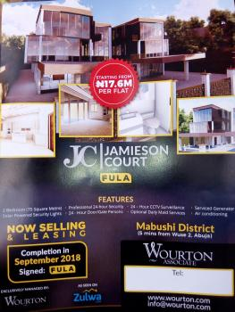 Luxury Serviced Brand New  2 Bedroom Flat, Tarred Road, Off Vio Office, Mabuchi, Abuja, Mini Flat for Sale