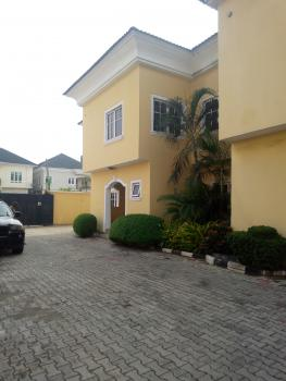 Lovely and Well Renovated 4 Bedroom Semidetached Duplex with a Room Bq,fitted Kitchen,etc., Off Oladimeji Alo Street., Lekki Phase 1, Lekki, Lagos, Semi-detached Duplex for Rent