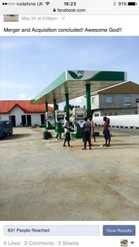 Forte Oil Filling Station on Lekki Epe Express  Way for Sale, Local Government Secretariat in Aiyeteju, Ibeju Lekki, Lagos, Filling Station for Sale