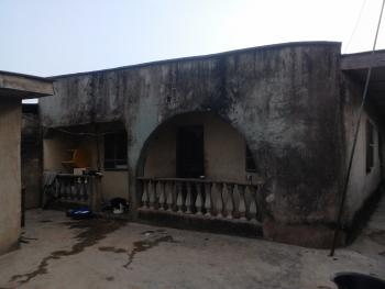 Half Plot of Land with Completed Structure  in Agric Ikorodu Lagos State, Ojokoro Road, Agric, Ikorodu, Lagos, Detached Bungalow for Sale
