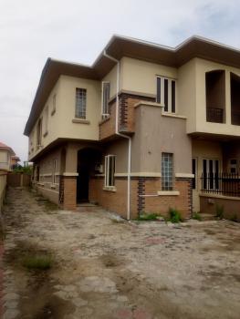 Clean 4 Bedroom Duplex Self Compound, Diamond Estate on, Shoprite Road, Sangotedo, Ajah, Lagos, Detached Duplex for Rent