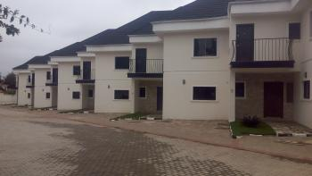 Top Notch 7 Units of 3 Bedroom Fully Serviced Terrace Duplexes with a Bq, Pool, Garden, Gym, 24hrs Light, Good for Expatriates, Asokoro District, Abuja, Terraced Duplex for Rent
