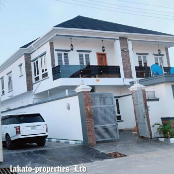 Luxury Built 4 Bedroom Duplex with State of The Art Finishing, Osapa, Lekki, Lagos, Semi-detached Duplex for Sale