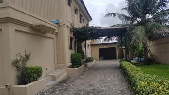 Well Maintained 4 Bedroom Semi-detached House with a 2 Room Bq, Dolphin Estate, Ikoyi, Lagos, Semi-detached Duplex for Rent