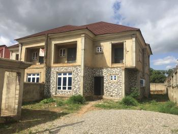 2 Wings 80% Finished 4 Bedroom Semi Detached Duplex, Cbn, Wumba, Abuja, Semi-detached Duplex for Sale