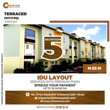 The Baroness- 28 Housing Units All Apartments Fully Finished (including Air-conditioning and Kitchen Fittings) All Houses, By Nizamye Hospital Karmo, Abuja, Karmo, Abuja, Terraced Duplex for Sale