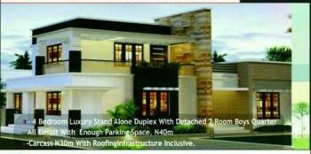 Luxury Duplex at an Estate at Idu Layout (off Plan), Estate at Idu Layout., Idu Industrial, Abuja, Detached Duplex for Sale