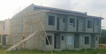 3 Bedroom Flat, All Rooms En-suite., Oribanwa, Ibeju Lekki, Lagos, Terraced Duplex for Sale