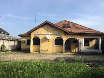 4 Bedroom Bungalow on 2 Plots of Land, Atali Road, Obio-akpor, Rivers, House for Sale