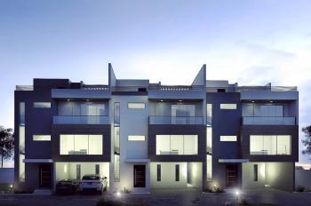 Luxury 4 and Half Bedroom Town House with 2 Room Bq N Rooftop Terrace, Whitesands Street, Lekki Phase 1, Lekki, Lagos, Terraced Duplex for Sale