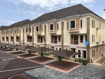 Exquisitely Beautiful 4 Bedroom Terraced Duplex with Bq, 24 Hours Electricity, Swimming Pool and Gym, Chevron Drive, Chevy View Estate, Lekki, Lagos, Terraced Duplex for Rent