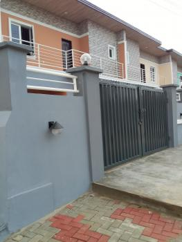 3 Bedrooms Duplex Within an Estate at Cement with 4 Carpark Space., Within an Estate., Mangoro, Ikeja, Lagos, Semi-detached Duplex for Rent