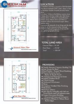 Luxury 3 Bedroom Terrace, New Layout Behind Citec Estate, Idu, Karmo, Abuja, Terraced Duplex for Sale