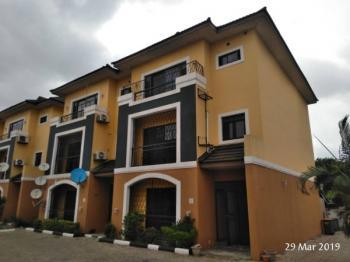 Distress Luxury 4 Bedroom Town House with a Room Bq, Reverend Ogunbiyi Close, Ikeja Gra, Ikeja, Lagos, Terraced Duplex for Sale