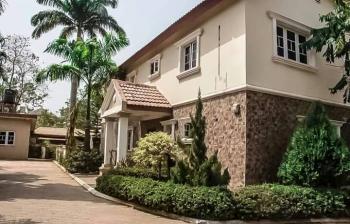 Luxury N Exquisite 4 Bedroom Detached Duplex with 3 Rooms Bq, Office, Garden Space, Car Slot, Over 1000 Sqm, Maitama District, Abuja, Detached Duplex for Sale