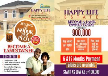 Land, Otere Apena, Mowe Ofada, Ogun, Land for Sale