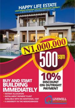 a Plot of Land (1 Minute Drive From Redemption Camp), Otere Apena, Mowe Ofada, Ogun, Land for Sale